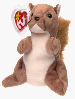 Ty Beanie Babies - Nuts the Squirrel