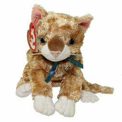 Ty Beanie Baby - MATTIE the Orange Tabby Cat  MINT with MINT