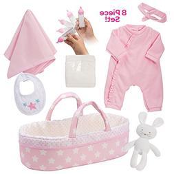 "Adora Adoption Baby Essentials ""It's a Girl"" 16 Inch Gir"