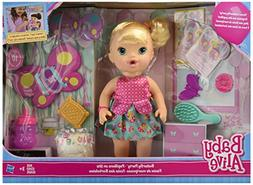 Baby Alive Brianna's Butterfly Party Playset - Blonde