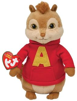 Ty Beanie Baby ~ ALVIN and the Chipmunks ~ MINT with MINT TA