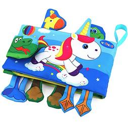 teytoy Animal Soft Activity Baby Book Early Education Toys A