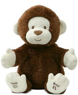 Baby Gund Animated Clappy the Monkey Interactive Plush Toy N