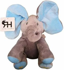 Animated Flappy Ear The Singing Elephant Plush Toy for Boy a