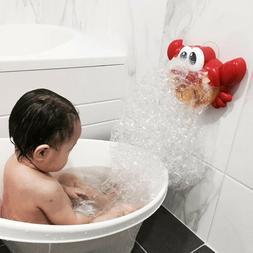 automated spout crab bath toys cute bubble