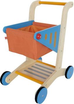 Award Winning Hape  Kid's Wooden Shopping Cart