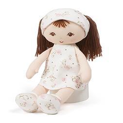"Brunette Doll Baby Gund 13/"" Little Me Collection"