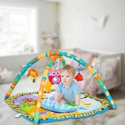 baby activity gym learning pad infant crib