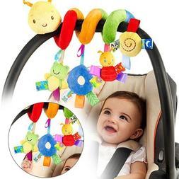 Baby Activity Spiral Stroller Car Seat Travel Lathe Hanging