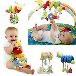 Baby Activity Spiral Stroller Car Seat Travel Lathe Rattles