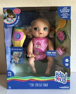 Baby Alive Baby Go Bye Bye Blonde Hair Doll 30+ Phrases And