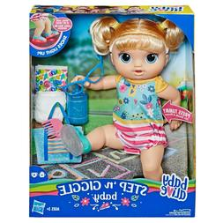 Baby Alive - Step 'N Giggle Baby Blonde Hair Doll with Lig