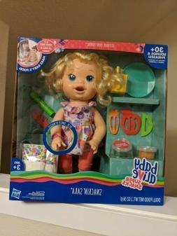 Baby Alive Super Snacks SNACKIN Sara Doll - Poops TALKS Engl