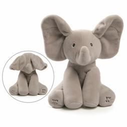 Baby Animated Flappy Elephant Plush Toy Gund- Sing & Play~Ne