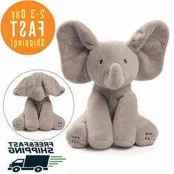 GUND Baby Animated - Flappy The Elephant - Plush Toy - Sing