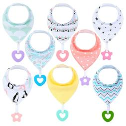 Baby Bandana Drool Bibs Teething &Drooling for Boys Girls So