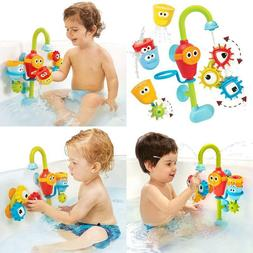 Yookidoo Baby Bath Toy- Spin N Sort Spout Pro- Three Stackab