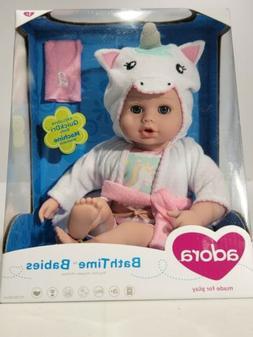 Adora Baby Bath Toy Unicorn, 8.5 inch Bath Time Baby Tot Dol