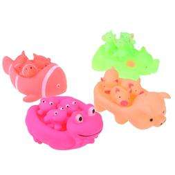 Baby Bath Toys Animals Swimming Water Toys Floating Rubber S