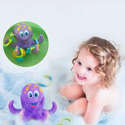 Baby Bath Toys Kids Bathtub Toy Octopus Pool Water Floating