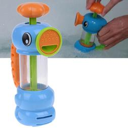 Baby bath water toys sea horse sprinkler pumping design hipp