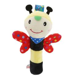Baby Bed Stroller Rattle Plush Baby Mobile Toy for Kids Ring