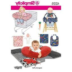 Simplicity Baby Bibs & Toys Accessories Pattern #4225, 20 Pi