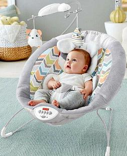 Baby Bouncer Infant Calming Vibrating Chair Sweet Dreams Roc