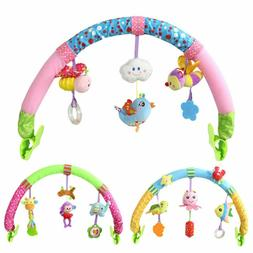Baby Crib Mobile Stroller Seat Clip Educational Hanging Ratt