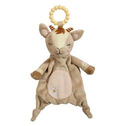 baby daisy goat plush teether stuffed animal