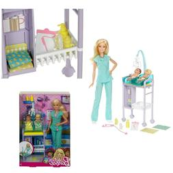 Baby Doctor Playset Barbie Careers Dolls Accessories Playset