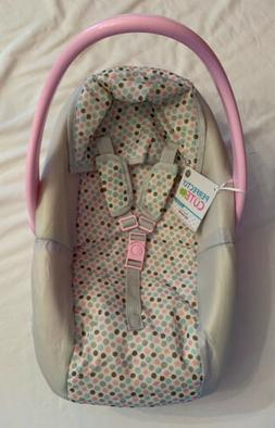Perfectly Cute Baby Doll Car Carrier Seat Pretend Play Toy,