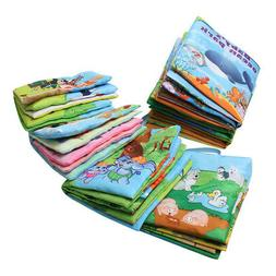 Baby Fabric Activity Crinkle Soft Books for Infants Baby Ear