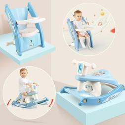 Baby Feeding Chair Seat Infant Dining Table Rocking Horse To