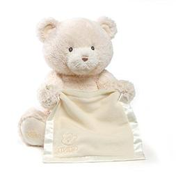 Baby GUND My First Teddy Bear Peek A Boo Animated Stuffed An