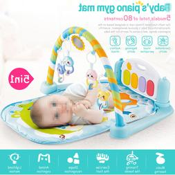 Baby Floor Gym Fitness Playmat Play Music Piano Activity Toy