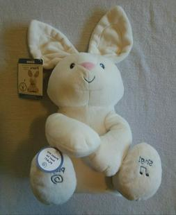 Gund Baby Flora 12in The Bunny Animated Stuffed Animal Toy -
