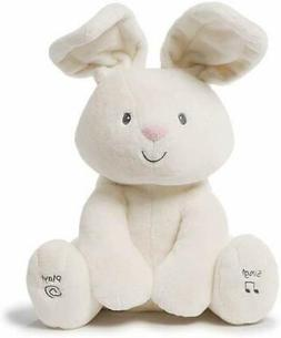 Baby GUND Flora The Bunny Animated Plush Stuffed Animal Toy,