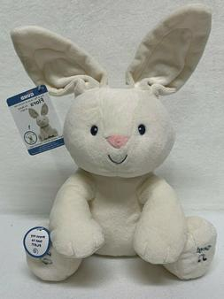 Baby Gund Flora the Bunny Sing & Play Animated Plush Toy - N