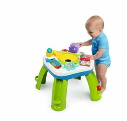 Baby get rollin'  activity table Bright stars, dinosaur trai