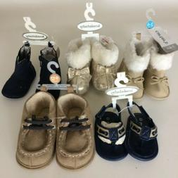 Baby Girl Boy Shoes Lot 5 Koalababy Carters Sizes 3 months t
