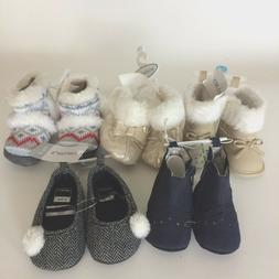 Baby Girl Shoes Boots Lot 5 Koalababy Carters 3 months to 1