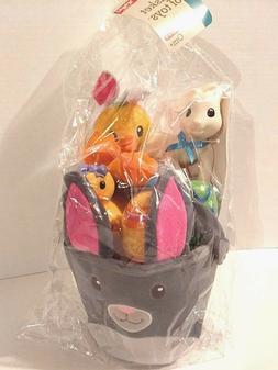 Infantino Baby Go GaGa Plush Easter Bunny Toy Gift Basket Ra