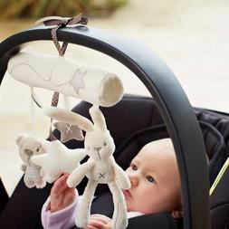 Baby Hanging Accessories Music Rabbit Plush Stroller Toys Mo
