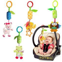 Baby Hanging Toys Playpen Stroller Rattles Plush Doll Infant
