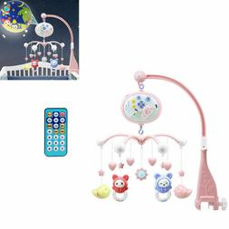 Baby Infant Crib Mobile Bed Bell Holder Musical Toy Hanger A