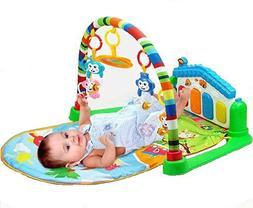 Life-Tandy Baby Kick and Gym Play Mat Lay & Play 3 in 1 Fitn