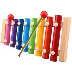 Baby Kid Musical Toys Piano Xylophone Wisdom Development Woo