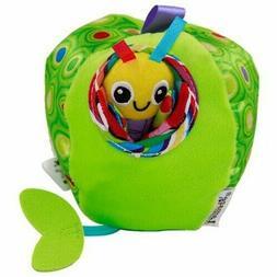 Baby Kid Toddler Rattle Jingle Pull & Tug Me Apple Bug Activ