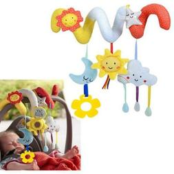 Baby Kids Activity Spiral Bed Stroller Toy Hanging Education